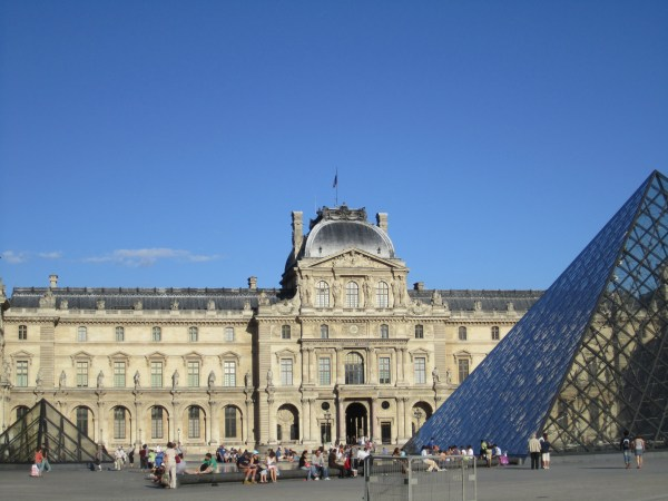 Louvre Museum Outside
