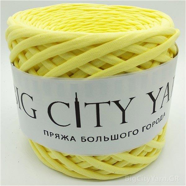 Βαμβακερό νήμα για πλέξιμο, Big City Yarn, Λεμονάδα