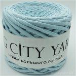 Βαμβακερό νήμα για πλέξιμο, Big City Yarn, Παραδεισένιο απαλό