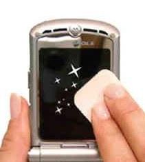 Чистка мобильного телефона