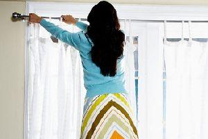 Как правильно чистить шторы