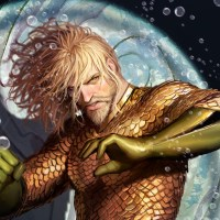 First look at Stjepan Sejic's stunning artwork from double-sized AQUAMAN #25