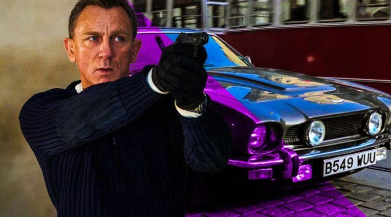 Aston Martin V8 — не время умирать — дань уважения «Искры из глаз»