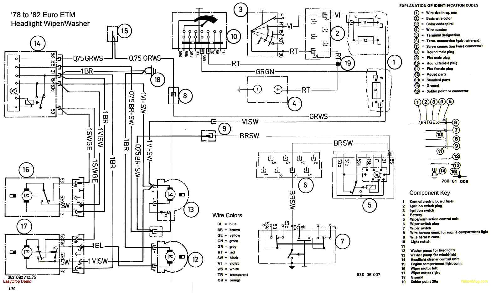 Need the ECE (European) wiring diagram