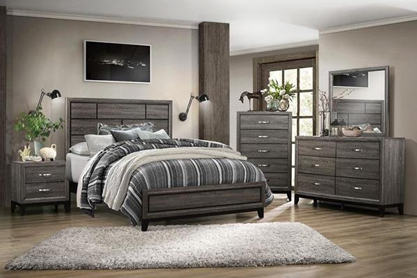 6 Pc Full Bedroom Set 1645 Big Dan S Furniture Amp Mattress