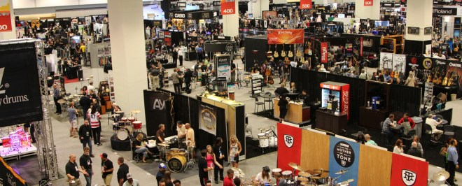 NAMM Show Floor (2014) - your source of gear acquisition syndrome