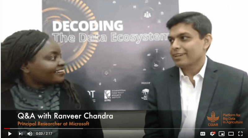 Q&A with Ranveer chandra from Microsoft