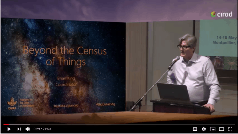 Video: Beyond the Census of Things