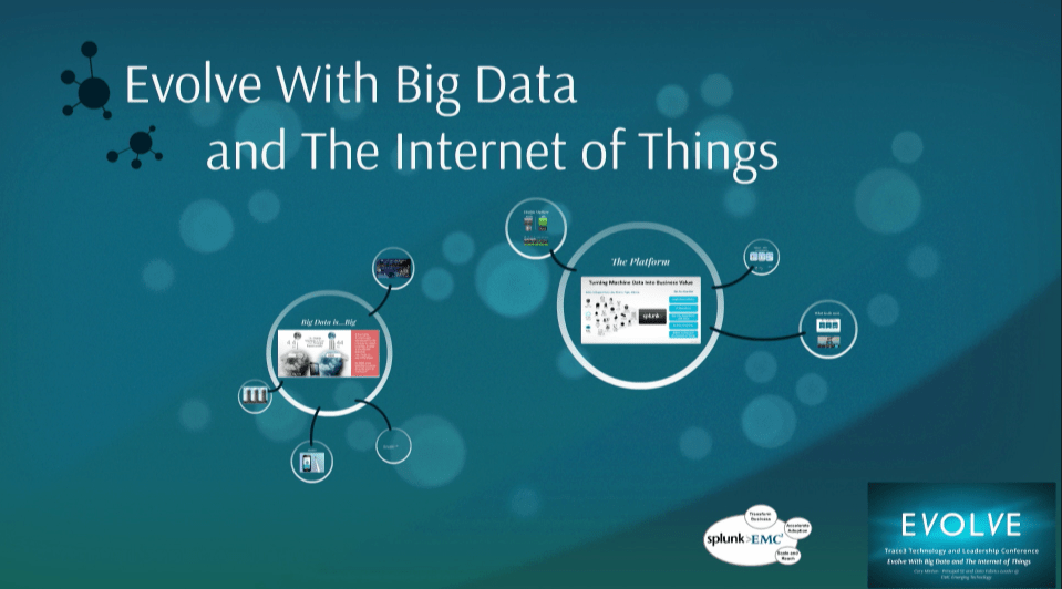 Thoughts on Big Data and The Internet of Things