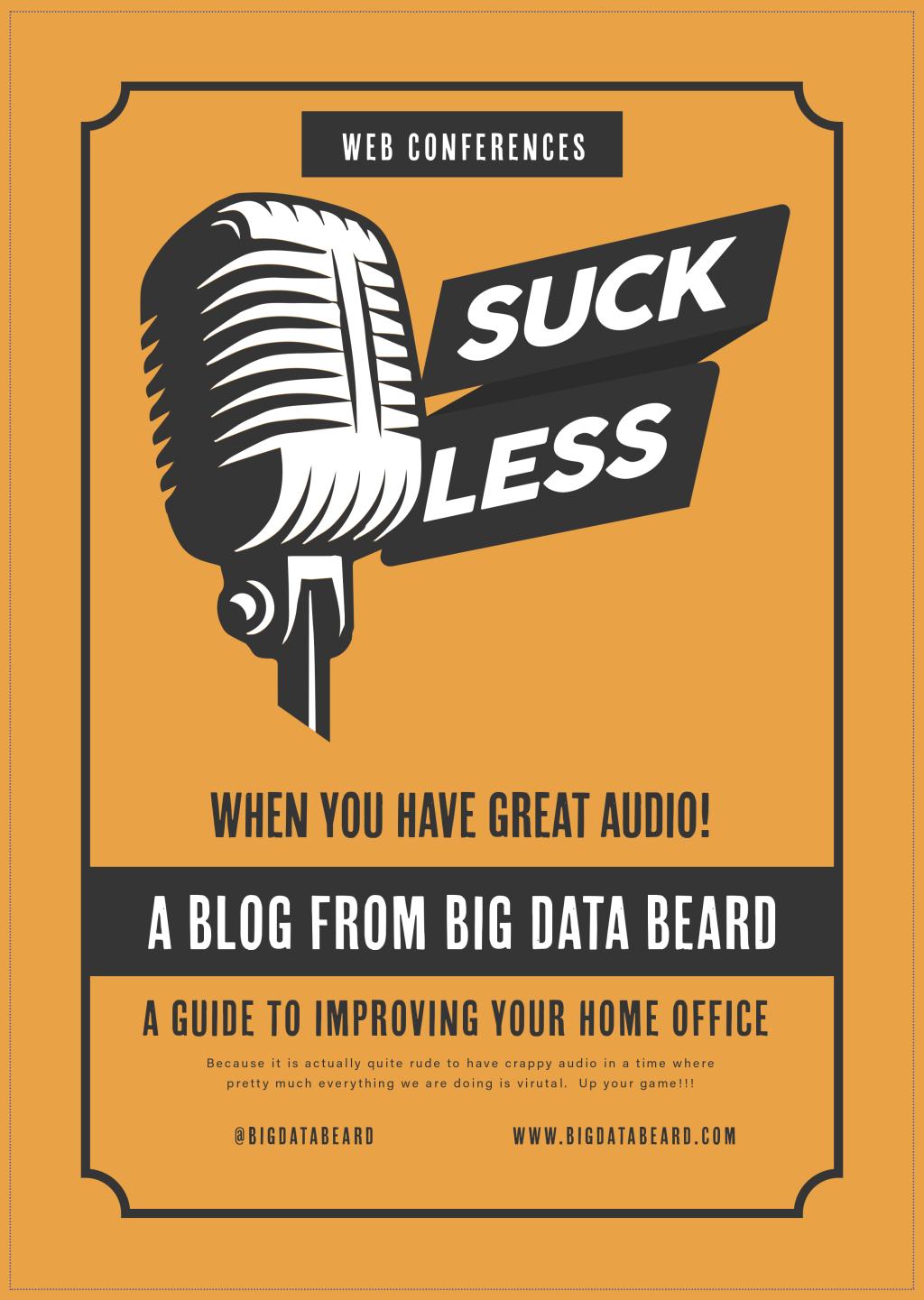 Work From Home Virtual Meeting Studio Setup: Part 1 – Audio