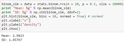 binomial simulation