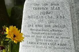 Milligan gravestone