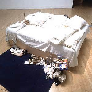 Tracy Emin's bed