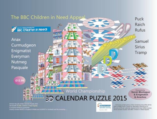 The BBC CiNA Calendar (2015)
