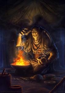 Pyromancy