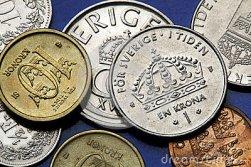 coins-sweden-swedish-one-ten-kronor-44020143