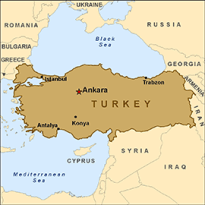 map-turkey