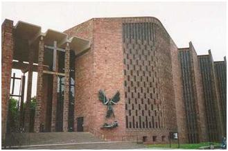 Coventry Cathedral, designed by Sir Basil Spence