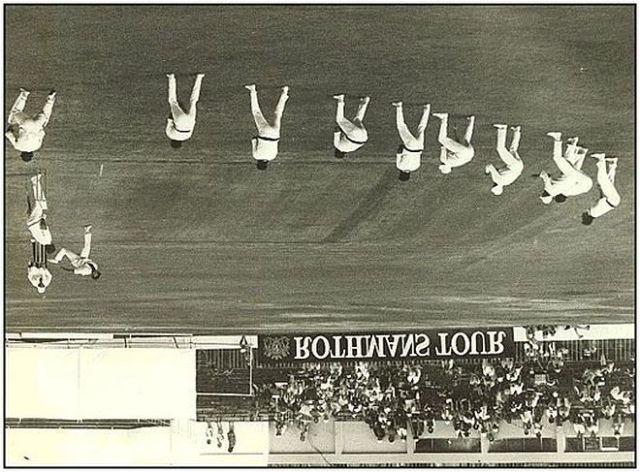 Dennis Lillee bowling in Australia vs New Zealand