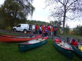 ADVENTURE GENTLY ready to take to to waters of Lough MacNean