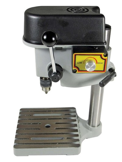 SE 97511MDP 3-Speed Mini Drill Press Bench for Jewelers
