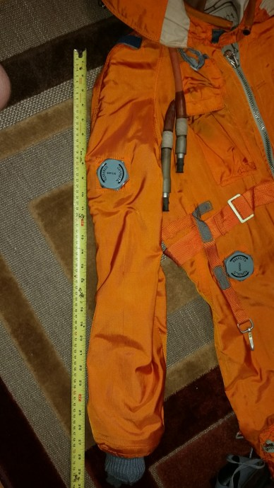 Genuine VMSK-4-15 High Altitude Pilot Suit RUSSIAN PILOTSUIT Made in USSR 1988