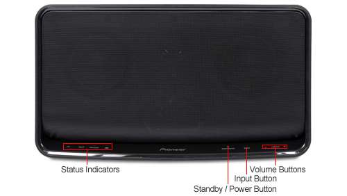 Pioneer XW-SMA3-K Speaker - Built-in WiFi, USB, AUX-in, Made for iPod