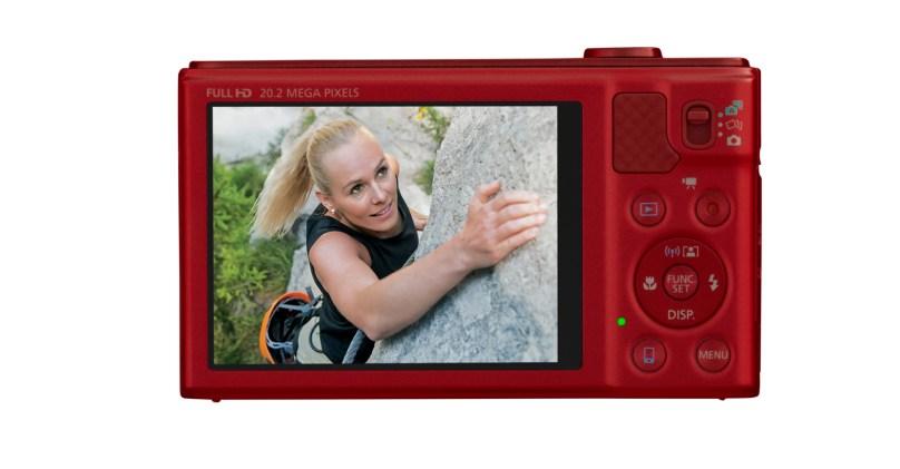 Canon PowerShot SX610 HS 20 megapixels, WiFi NFC 18x Optical Zoom - Red