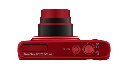 Canon PowerShot SX610 HS 20 megapixels, WiFi NFC 18x Optical Zoom - Red