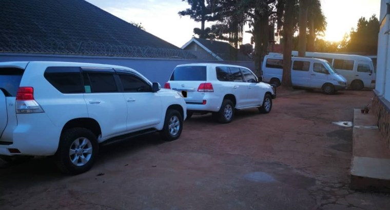 Toyota LandCruiser For Hire