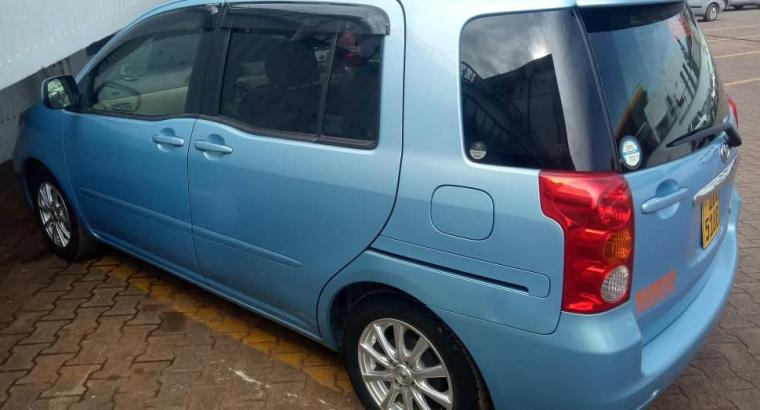2004 Toyota Raum For Hire