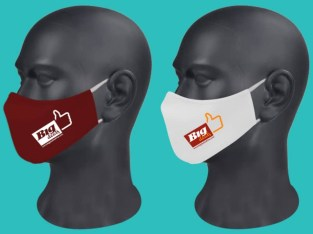Elegant Branded Face Masks