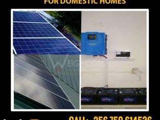Who installs solar systems for homes in Kampala Uganda? We do.