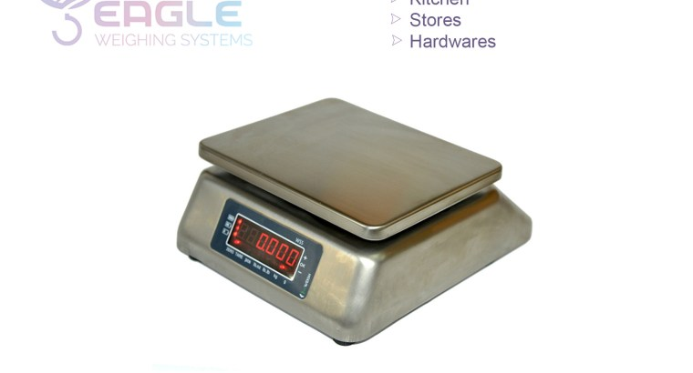 Square 30kg digital market commercial table top weighing scale