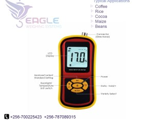 Moisture meters for cocoa and coffee bean moisture meter