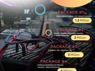 Thulani Ventures – Sound Packages