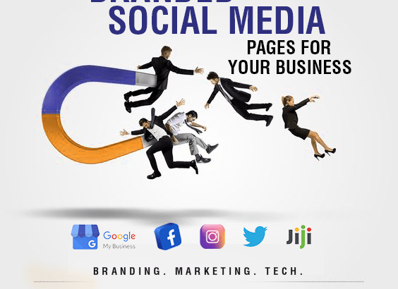 Social Media Page setup and Branding for your Business