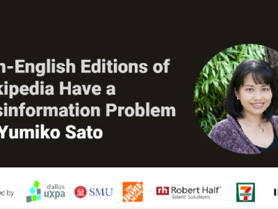 Non-English Editions of Wikipedia Have a Misinformation Problem by Yumiko Sato