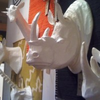 Papier-Mache Animal Sculptures, West Elm, New York