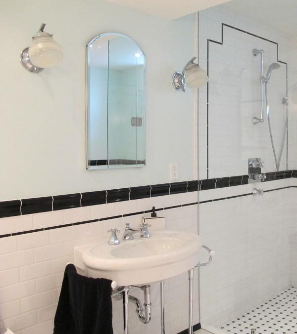 Art Deco Bathroom