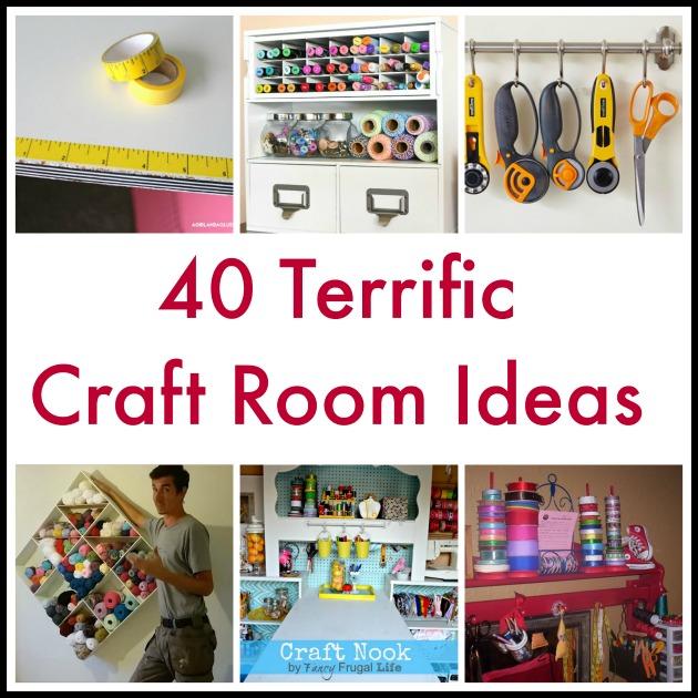 40 Terrific Craft Room Ideas