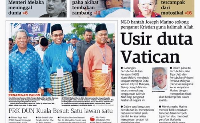 Malaysians Must Know The Truth Virtutem Essendi Principiatum