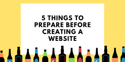 5 things to prepare before creating your website 5