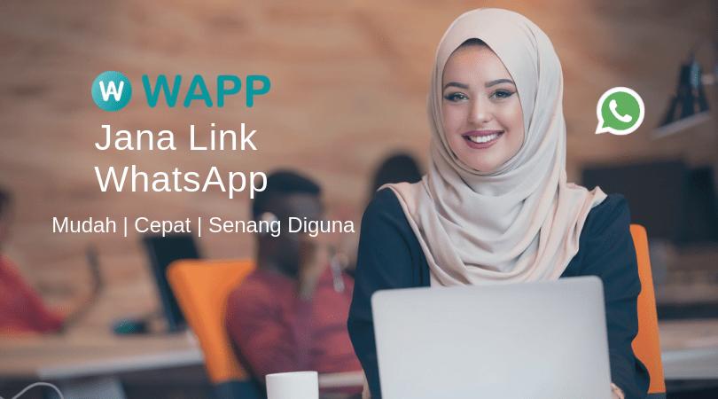 【WhatsApp Link Generator】Cara Mudah Untuk Buat Direct Link - WAPP.MY 1
