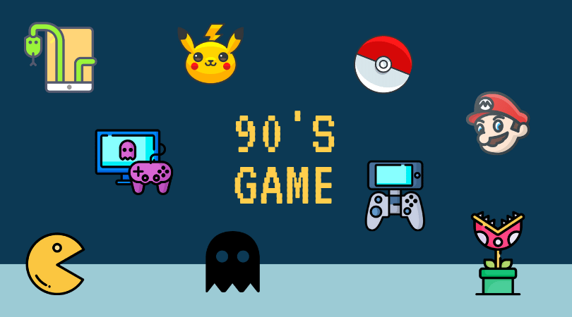 Games that Only 90's Kids Will Remember 1