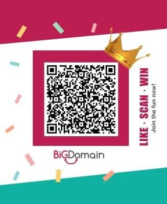 【Like, Scan and Win】The BigDomain x CheQQme Hunt Code is Here! 5