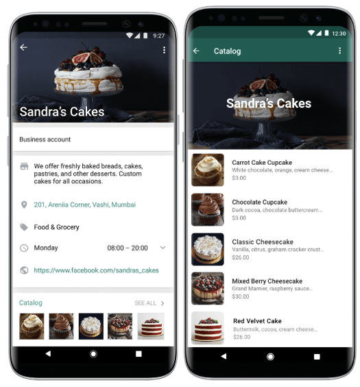 WhatsApp Launches Product Catalogs for Small Businesses 3
