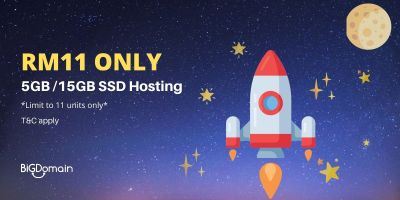 Get SSD powered Litespeed cPanel Hosting with only RM11 6