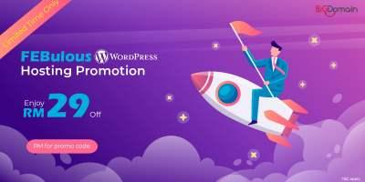 FEBulous WordPress Hosting Promotion 5