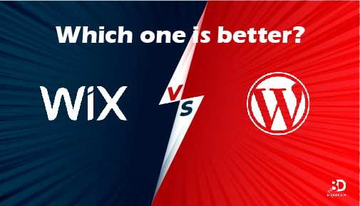 Wix VS WordPress : Which one We recommend? 1